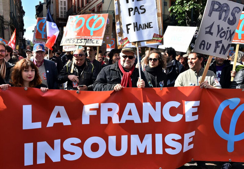 FRANCE INSOUMISE MANIF TOULOUSE