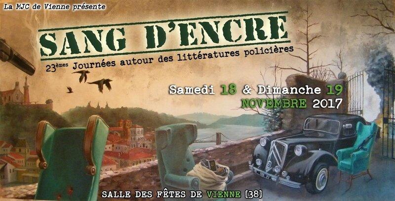 SANG D'ENCRE VIENNE - 18 & 19 NOVEMBRE 2017