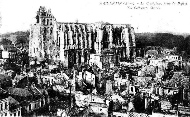 St Quentin 1918