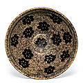A Jizhou paper-cut resist-decorated teabowl, Southern Song dynasty, late 12th-13th century