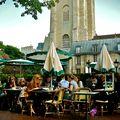Ambiance à Saint-Germain des Prés.