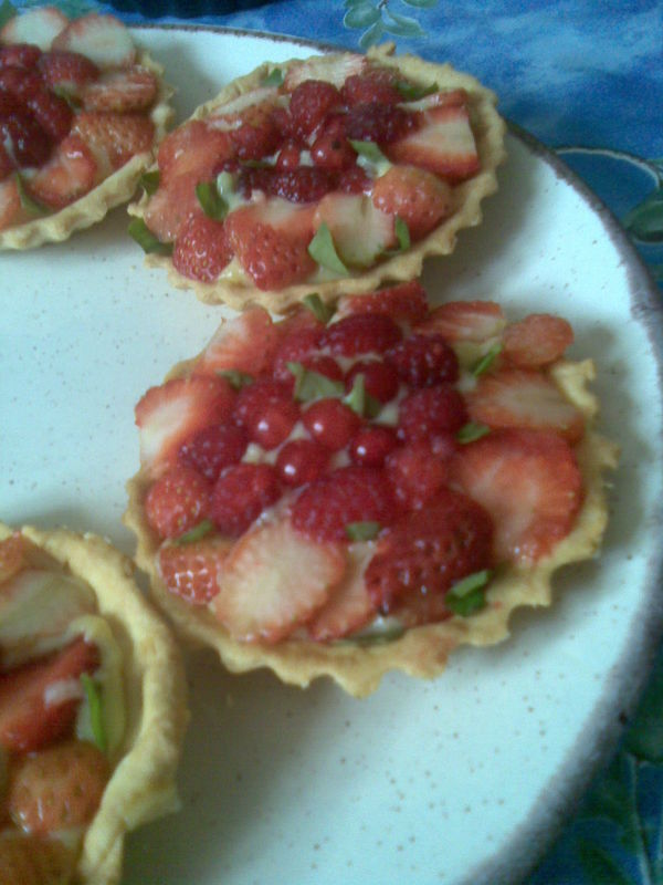Tartelettes au fruits rouges