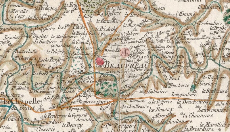 Carte Beaupreau