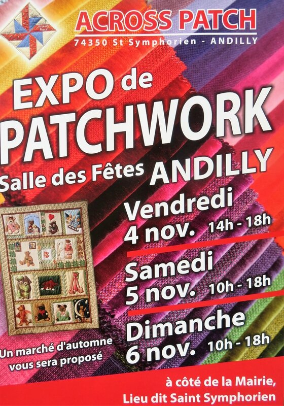 affiche expo patch 2016