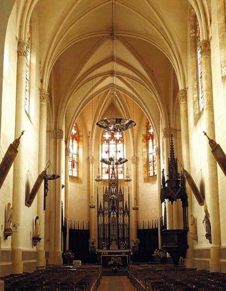 Bourg des Comptes, église Notre Dame, intérieur