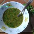 Il salmoriglio ou sauce au persil-citron pour poissons et viandes grillés-recettes de base