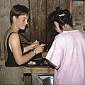 cuisine, Agnès et Maria-Cruz