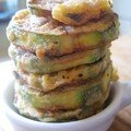Courgettes frits