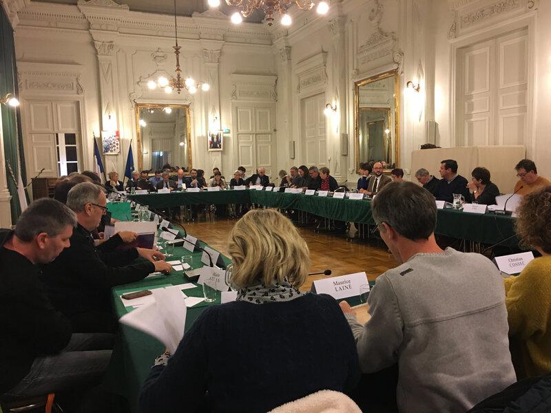 Avranches_commune nouvelle_conseil municipal_janvier_2019