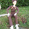 Julian au jardin