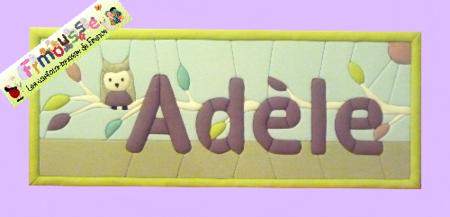 Carton-mousse Adèle