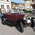 CITROËN 5HP 1923 Torpédo Trèfle Châtenois (1)
