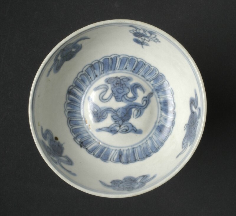 Bowl, China, Ming dynasty, Wanli period, 1573-1619