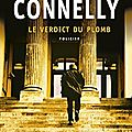 Le verdict du plomb, thriller de michael connelly
