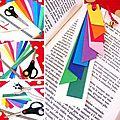 ¨°o.o marque-page coloré / diy paper bookmark o.o°¨