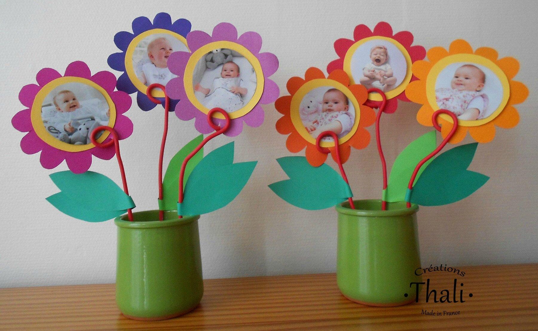 Nos pots de fleurs porte photos