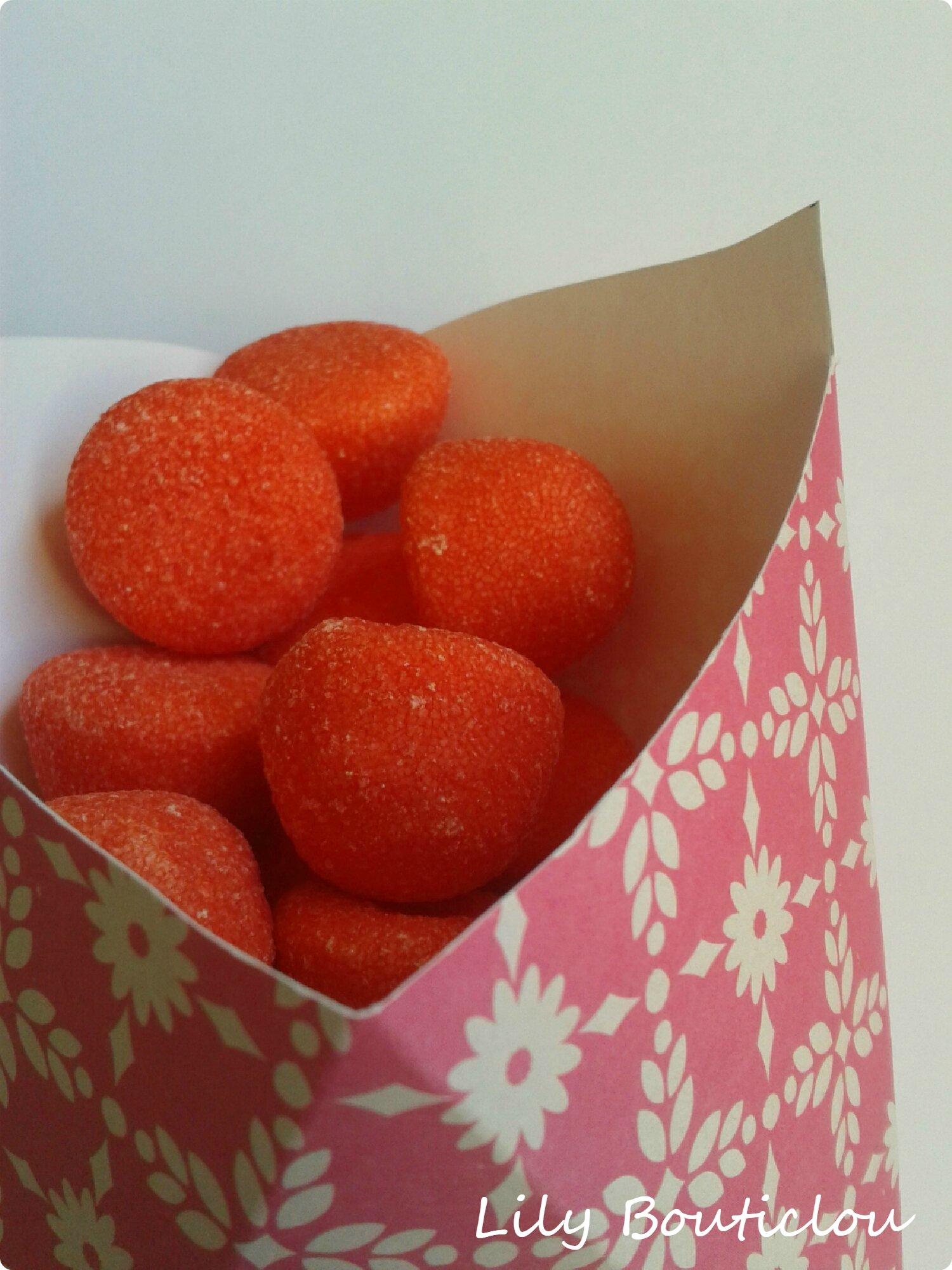cornet carton bonbon candy bar DIY 4