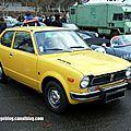 Honda civic série 1 automatique (1972-1979)(retrorencard janvier 2014)