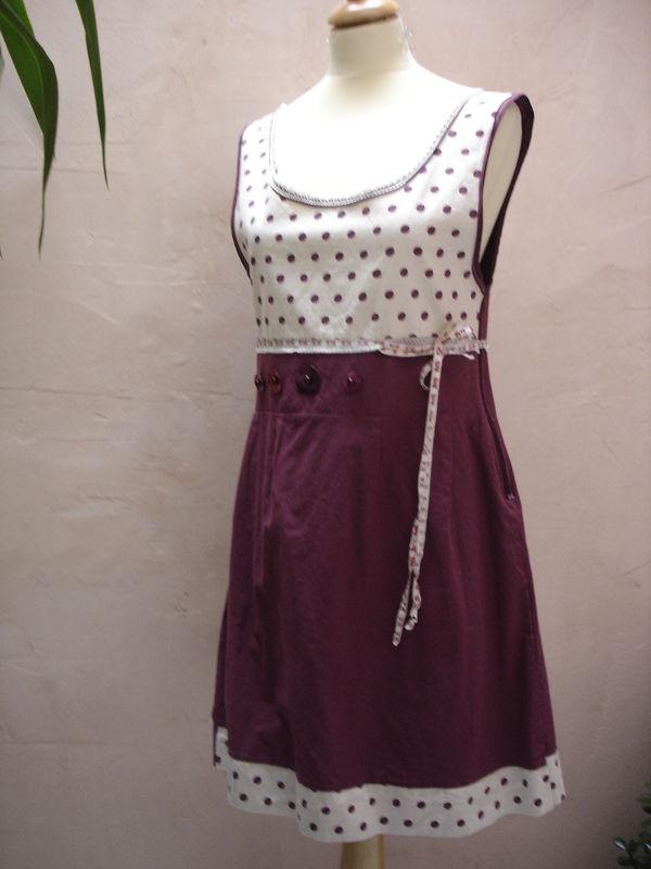 Petite robe à pois