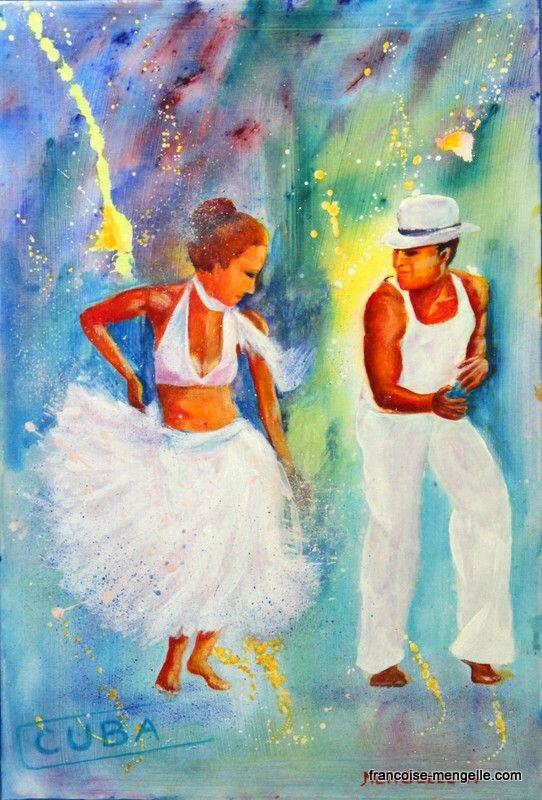 les danseurs de salsa