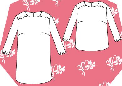Les Patronnes - Morris top ou robe