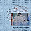 [album bébé] [scrapbooking a4] 8-7-2013