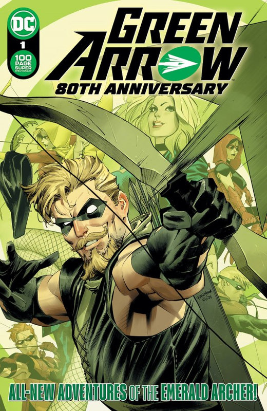 Green Arrow 80th anniversary special