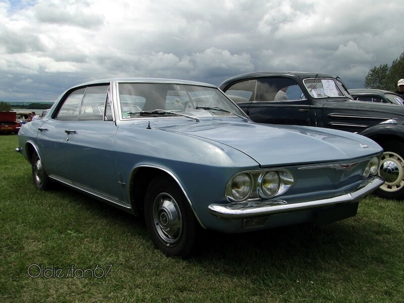 chevrolet corvair hardtop sedan 1965 a