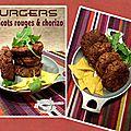 Burgers de haricots rouges avec (ou sans) chorizo
