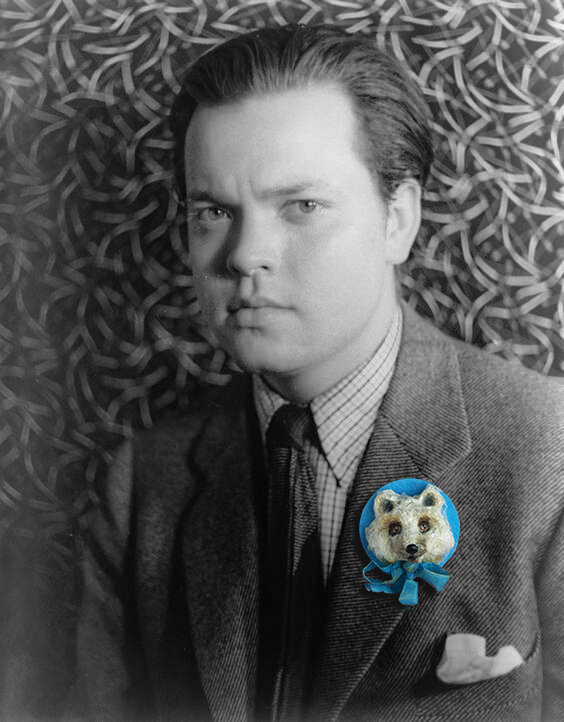 Broche Ourson Welles