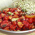 Tartare de fraises et tomates - kkvkvk#56
