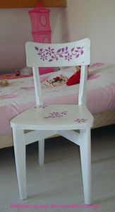 Chaise relookée (1)