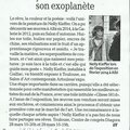 article de presse : nelly kieffer à l'exposition de toulouse 2015 (press article: nelly kieffer the toulouse exhibition 2015)