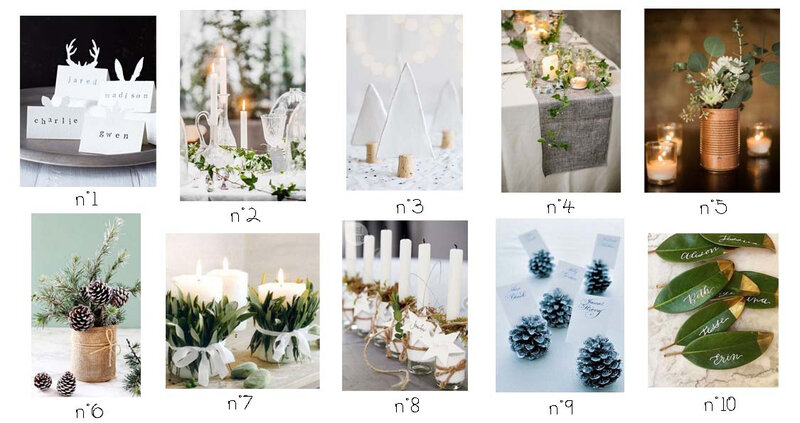 Decoration table nature copie