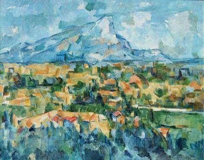 Cézanne ste victoire vue des lauves 1902 1904