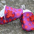 Chaussons naissance fille