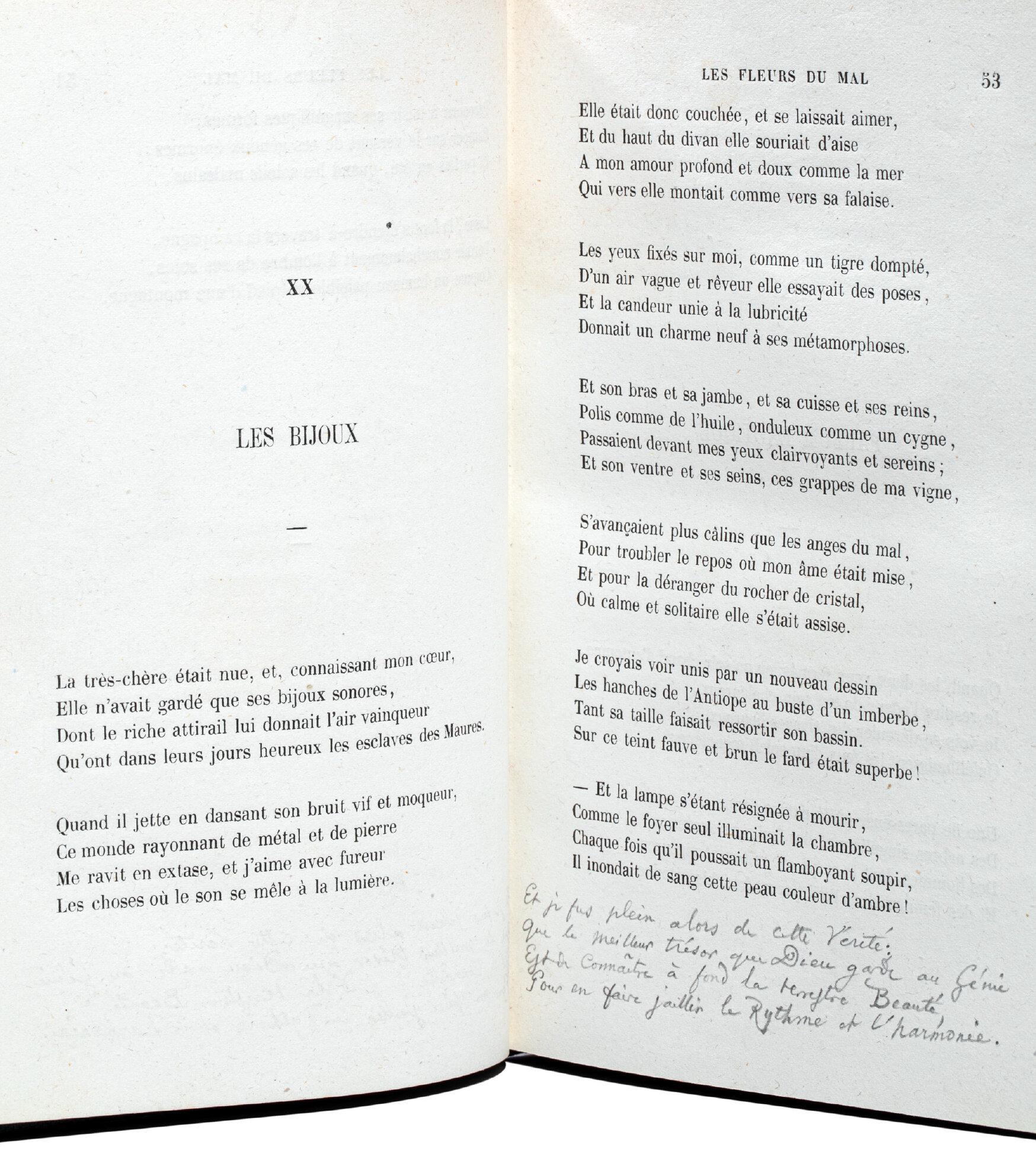Un inédit de Baudelaire aux enchères