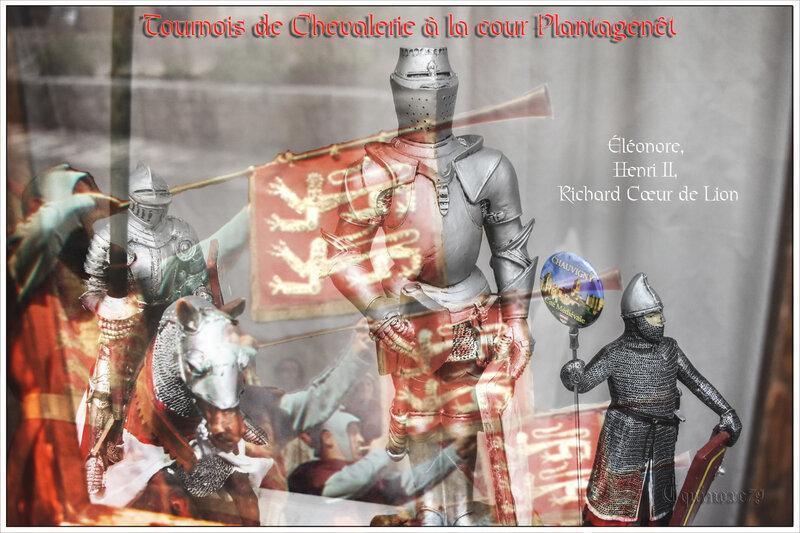 Tournois de Chevalerie à la cour Plantagenêt (Éléonore, Henri II, Richard Cœur de Lion)