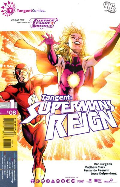 tangent superman's reign 01