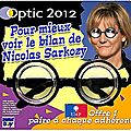 Noël 2011 : nadine morano offre une paire de lunettes à chaque nouvel adhérent de l'ump