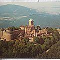 Haut Koenigsbourg - chateau datée 1977