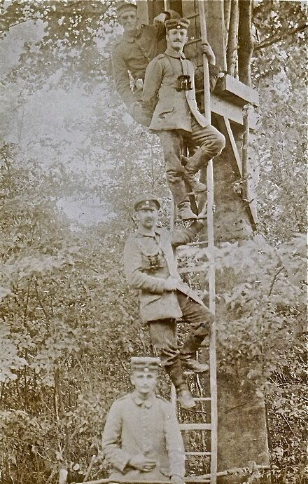 Carmoy 1915 observatoire boche