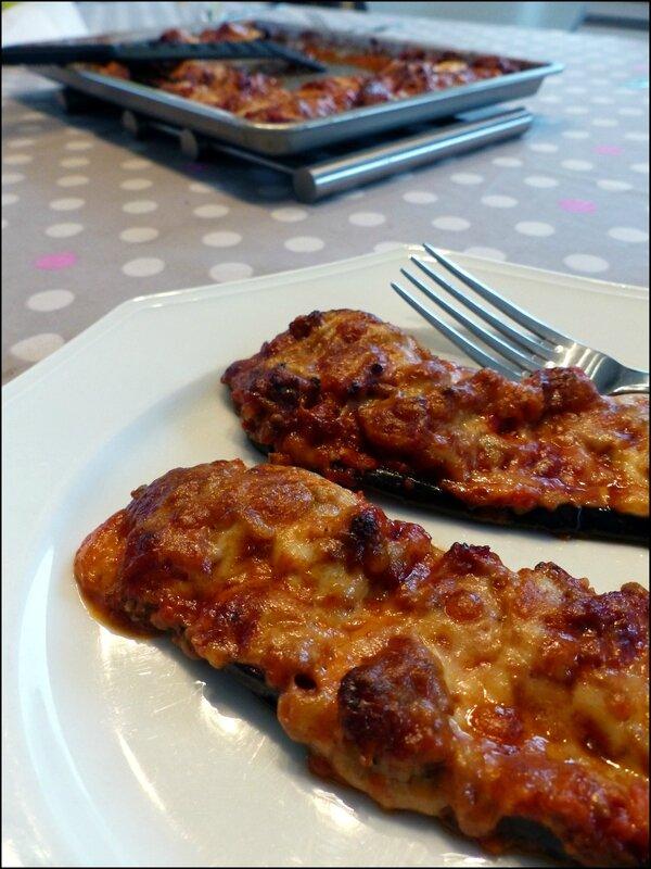 aubergine parmesane assiette