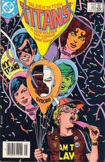 tales of the teen titans 65