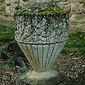 urne de défunt ou ornement de tombe