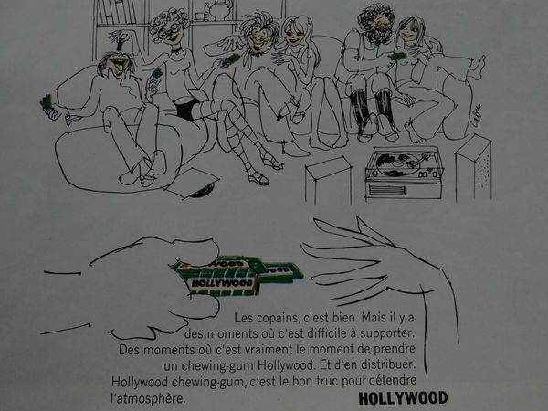 Hollywood Chewing gum (4)