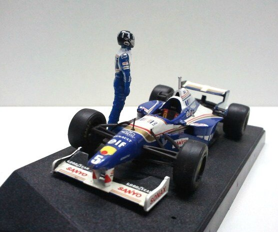 Williams FW18- Damon Hill (2)