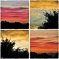 Belles couleurs du ciel