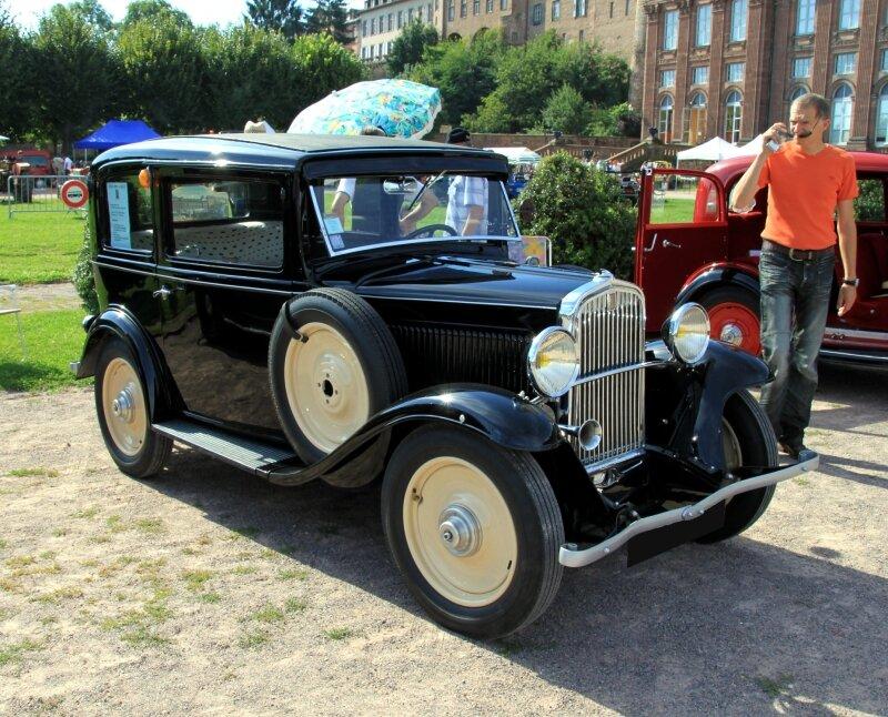 Simca Fiat type 6CV-F de 1933 (8ème Rohan-Locomotion) 01