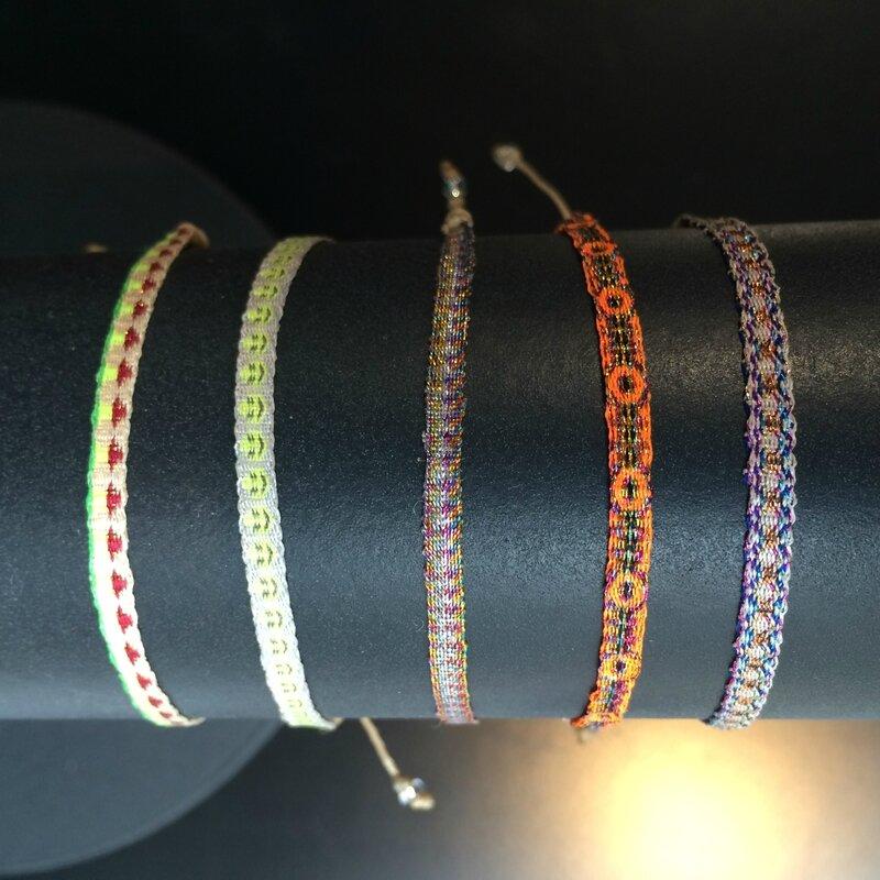 Bracelets tissés GUANABANA printemps 2016 Boutique Avant Après 29 rue Foch 34000 Montpellier (4)
